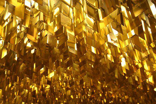 Ceiling, Lighting, Gold, Extravagant