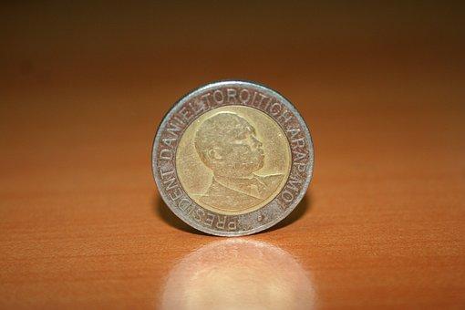 Coin, Kenyan Currency, Shilling, Kenya