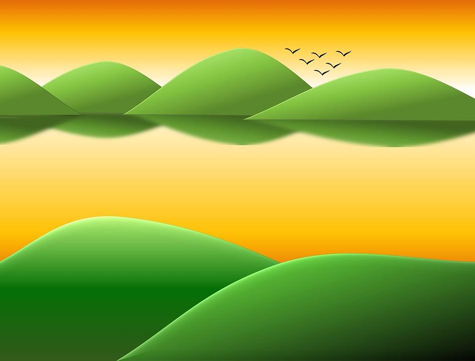 矢量素材绿色绿叶v矢量桌面矢量图壁纸植物椭圆背景948_720creo绘制树叶如何实体图片
