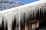 winter, icy, icicle
