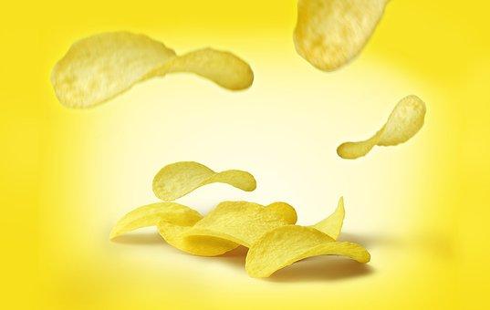 Crisp, Potato, Fast Food, Chips, Chips