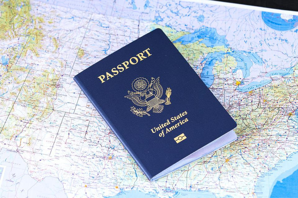 pport flag travel visa identification usa