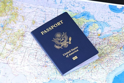 Passaporte, Pavilhão, Viagens, Visto