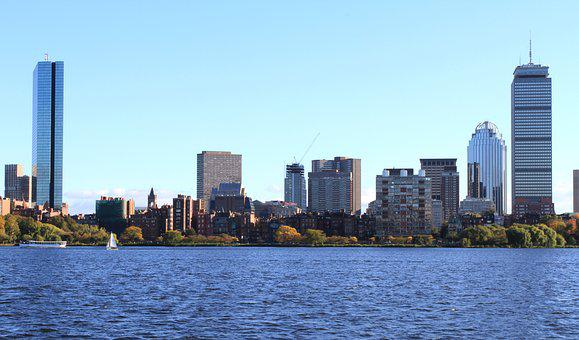 Boston, Downtown, Massachusetts, Scenic