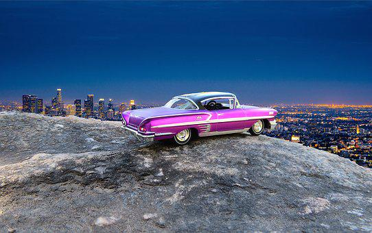 Car, Los Angeles, Overlook