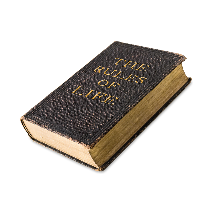 Life, Rules, Book, Rules Of Life, Rule Book
