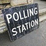 polling station, poll, election day