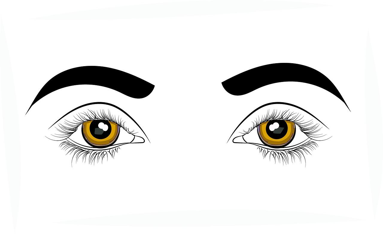 Раскраска на глаза фото
