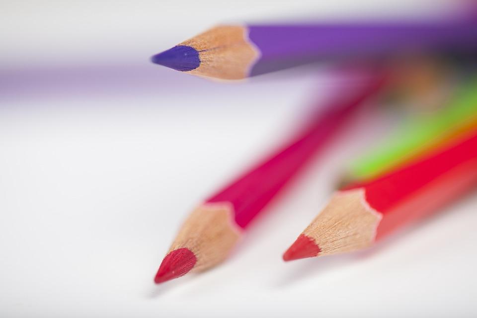 Pen, Color, Paint, The Draw, Painter, School, Student