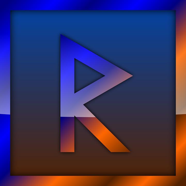 Raidho, Rune, Runes, Futhark, Divination, Norse, Icon