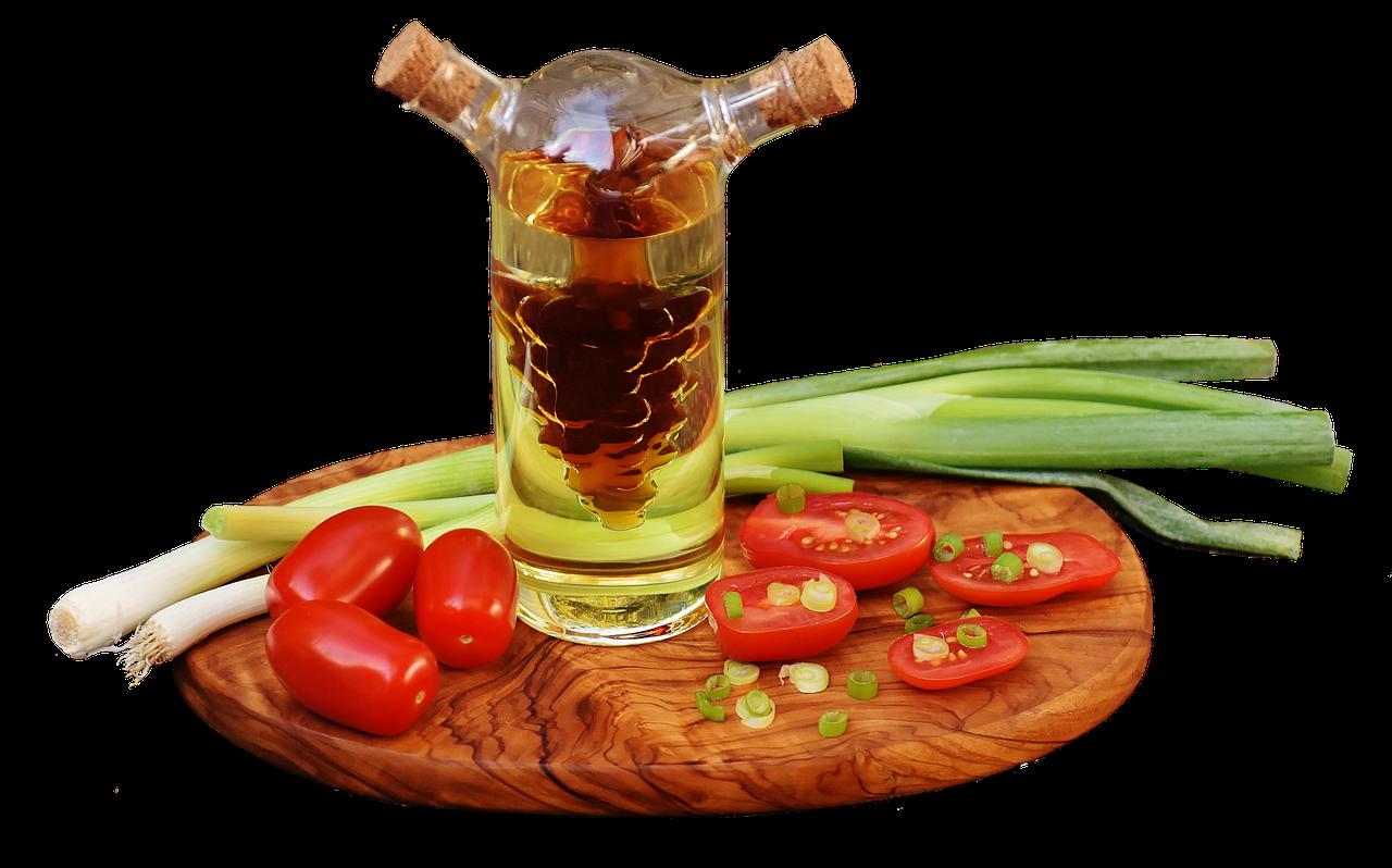 醋,油,蕃茄,洋葱,葱,食品,瓶,健康,蔬菜,美味,红色,韭菜,吃,新鲜,樱桃番茄,沙拉,厨师,裁剪,孤立,豁免,剪出