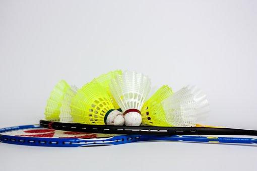 Badminton, Federball, Ball, Bälle