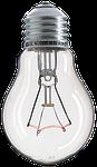 light bulb, filament, glows