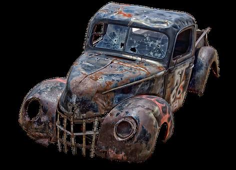 Pickup Truck, Old, Pickup, Usa