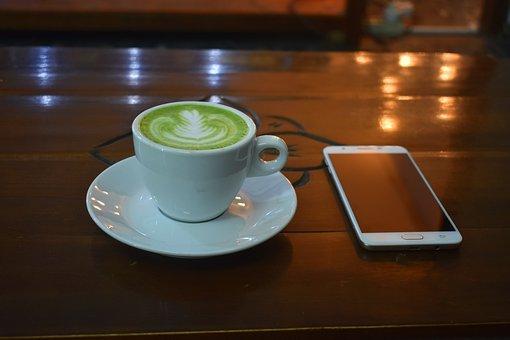 Zielona Herbata Latte, Herbata, Latte