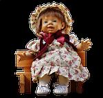 doll, girl, cry