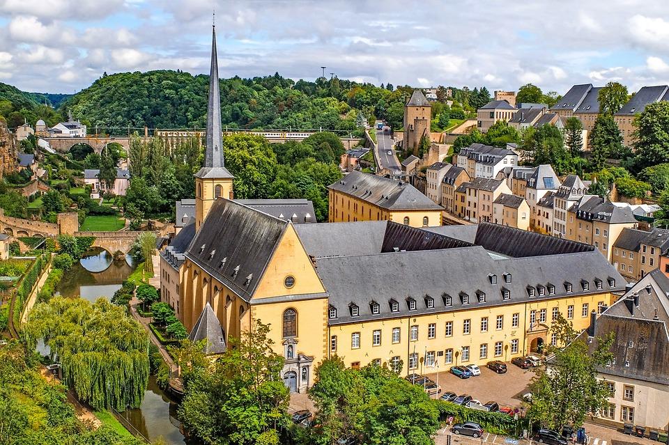 Luxembourg, City, Landscape, Cityscape, Ville Basse