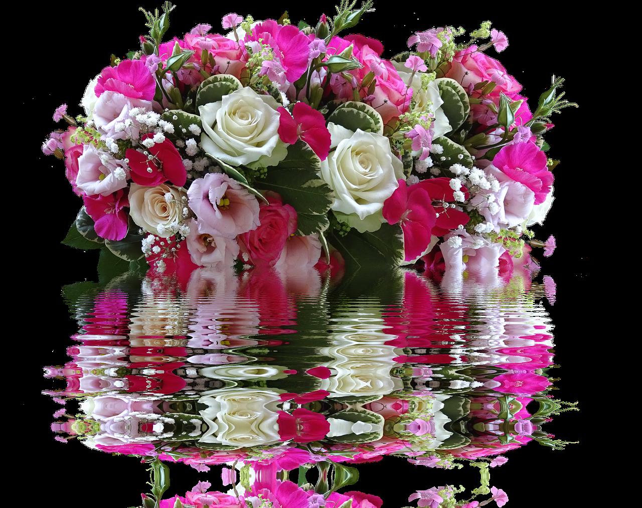 Движущиеся картинки букеты цветов