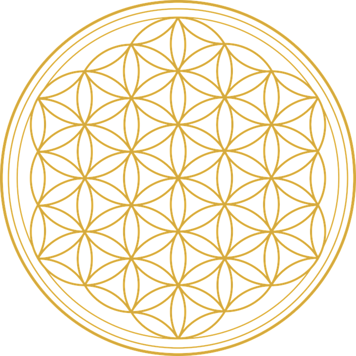 Flower Of Life, Flower, Graphic, Mathematics, Geometry