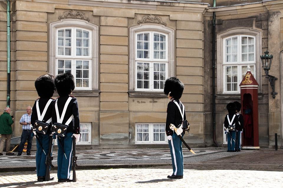 Soldaat, Bewaker, Copenhagen, Militaire, Leger, Uniform