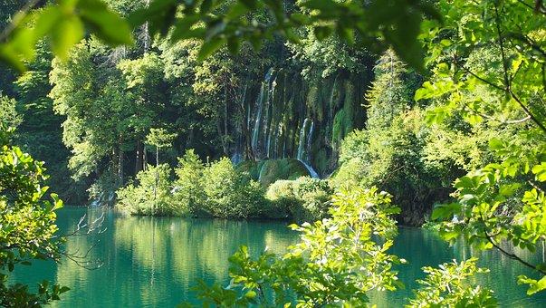 Croatia, Plitvice Lakes, Water