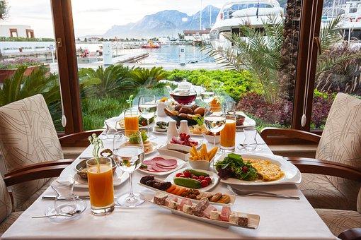 Frühstück, Tabelle, Essen, Makro