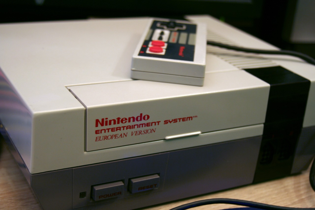 Nes Nintendo Entertainment System - Free photo on Pixabay