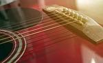 acoustic, guitar, strings
