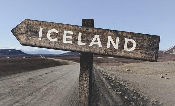 Pegunungan, Islandia, Kayu, Tanda