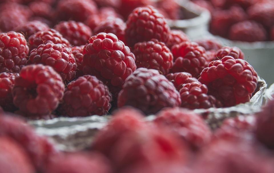Red, Frais, Framboises, Framboise, Baies, Fruits