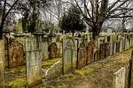 cemetery, tombstones, graves