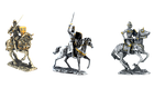 knight, horse, armor
