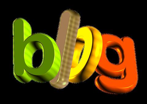 Blog, Letters, Word, Font, Internet