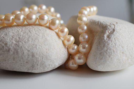 Pearls, Jewelry, Necklace, Shine, Beauty