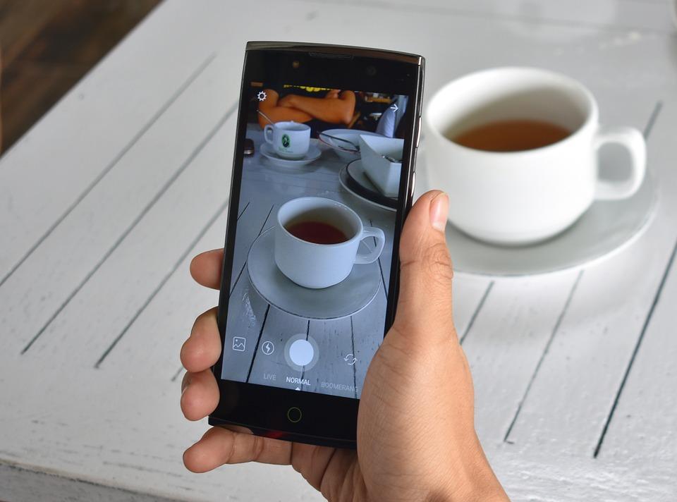 Smartphone, Instagram, Tea, Lifestyle, Photo, Happy