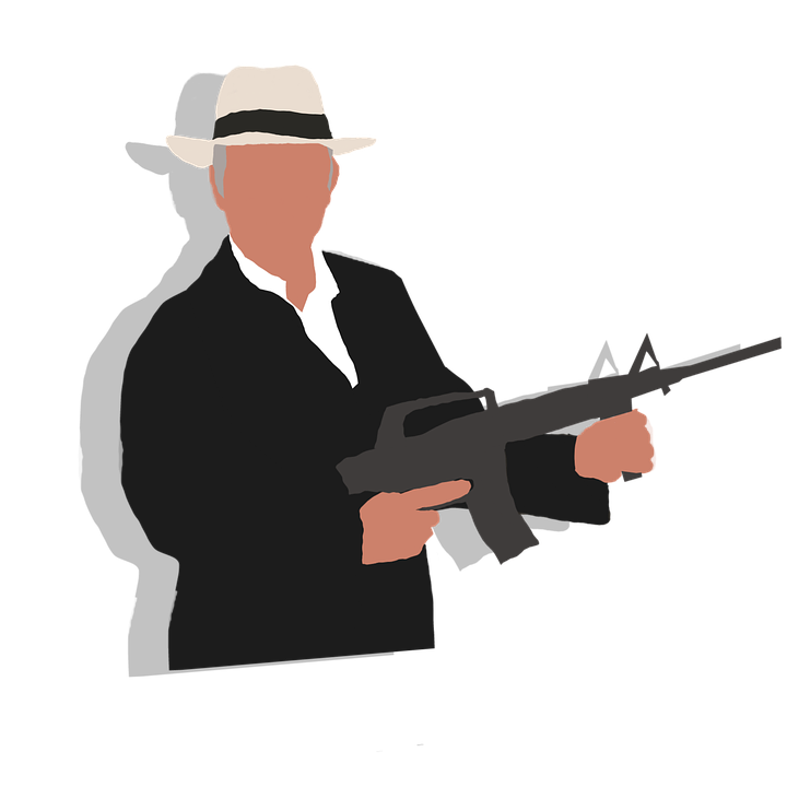 ギャング スター, レトロスタイル, マフィア, 組織犯罪, 銃, 男性, 父, 大人, 犯罪, 刑事, 危険