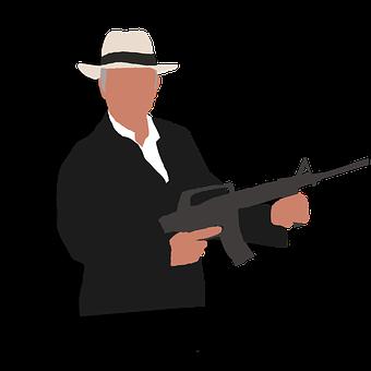Gangster, Retro Style, Mafia