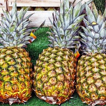 Pineapple, Fruit, Tropical Fruit, Exotic