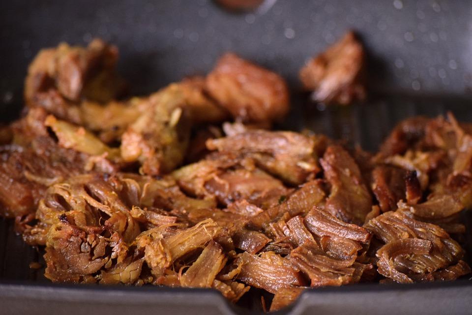 メインコース, 焼き肉, 自家製, チョップ, 肉, バーベキュー, 夏, グリル, おいしい, 食べる