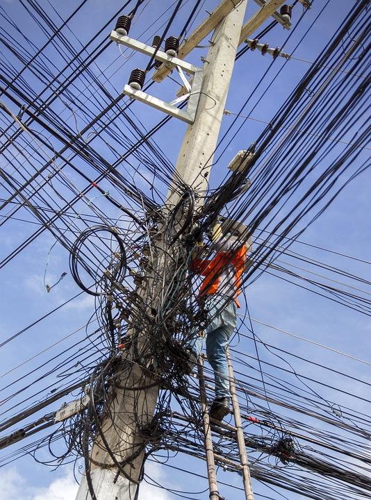 Elektrische Kabel-Chaos Energie · Kostenloses Foto auf Pixabay
