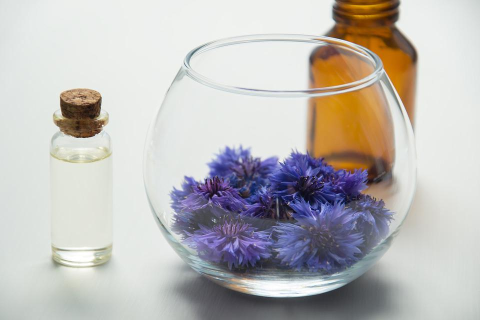 Essential Oils, Cosmetology, Oil Cosmetic, Centaurea
