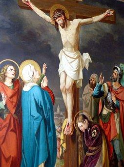 Droga Krzyżowa, Pasja, Żałoba, Chrystus