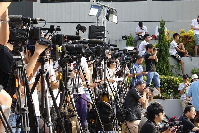 Free Photo Hongkong Media Camera Journalist Free