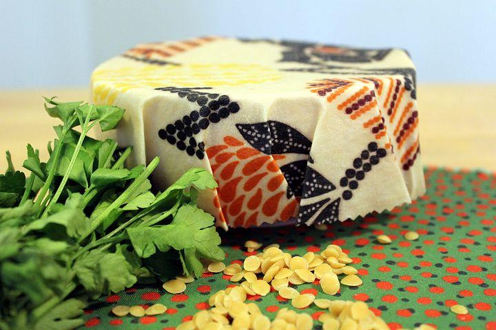 Food Storage, Food Wrap, Beeswax, Cotton