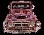 austin, truck, old