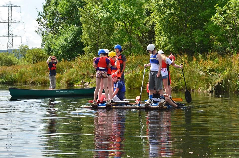 Sailing, Lake, Summer Camp, Kids, Outdoor, Canoeing