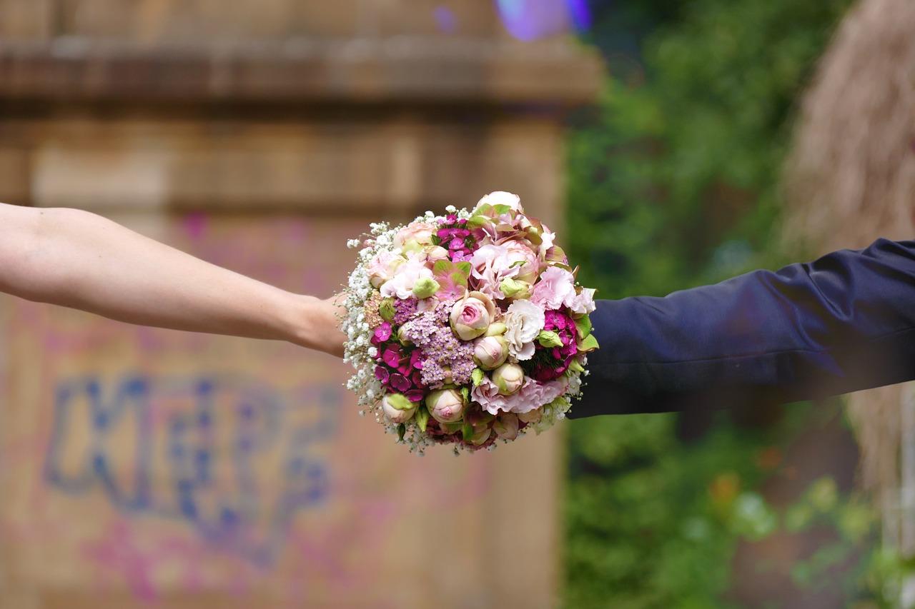 поздравление букет невесты побег имеет
