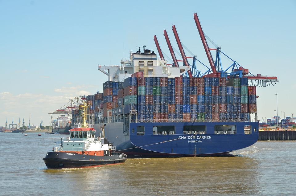 Hamburg Port Elbe Hanseatic - Free photo on Pixabay