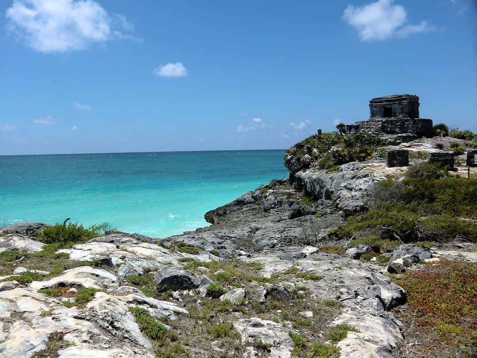 Tulum, Mexico, Mayan, Ancient, Yucatan, History, Travel
