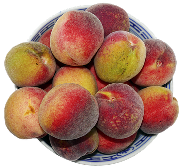 Peach, Stone Fruit, Fruit Bowl